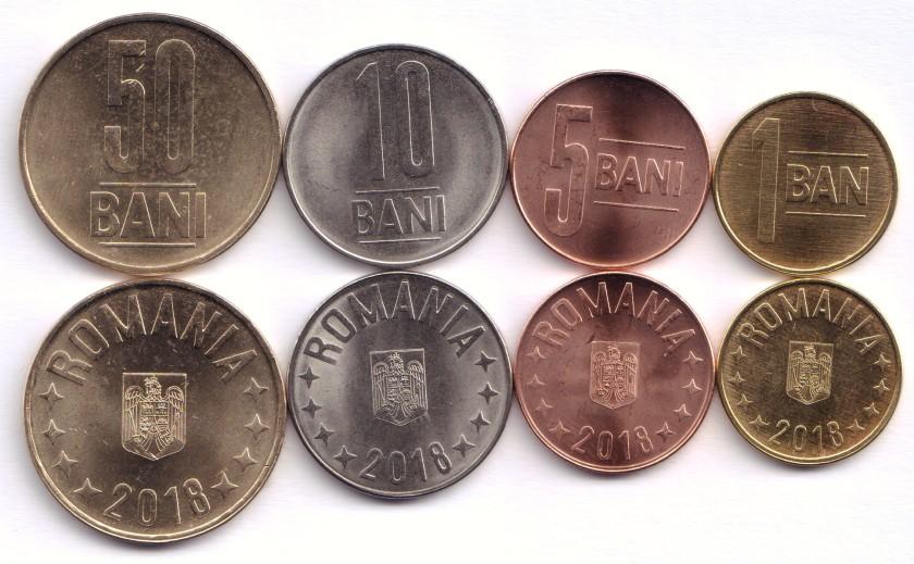 Romania 2018 4 coins UNC