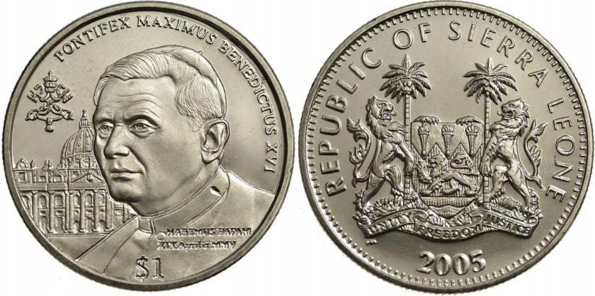 Sierra Leone 2005 KM# 323 1 Dollar UNC